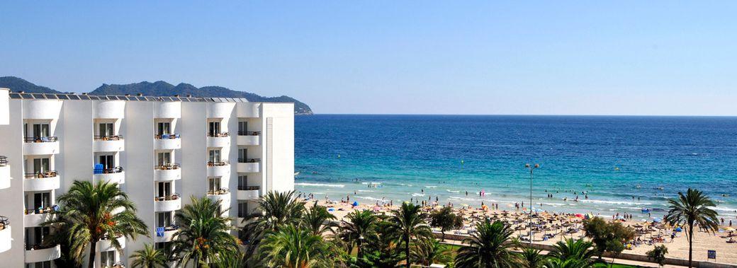 Hipotels dunas cala millor club blaues meer reisen for Designhotel am strand