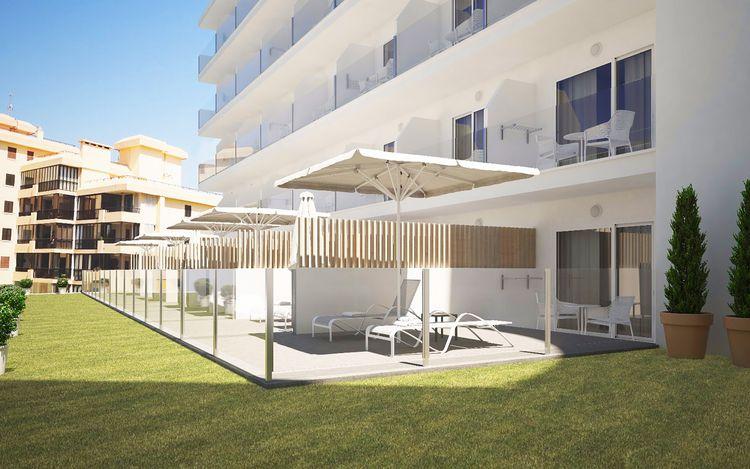 golden playa mallorca club blaues meer reisen. Black Bedroom Furniture Sets. Home Design Ideas
