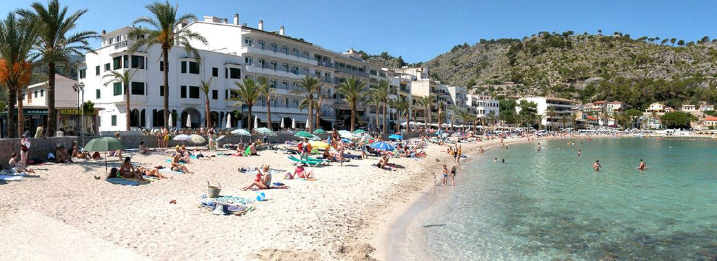 Hotel marina soller mallorca club blaues meer reisen for Design hotel mallorca strand