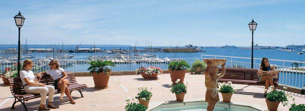 Hotel Mirador Palma Club Blaues Meer Reisen