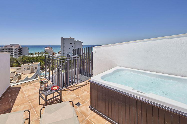 hotel pincipe mallorca club blaues meer reisen. Black Bedroom Furniture Sets. Home Design Ideas