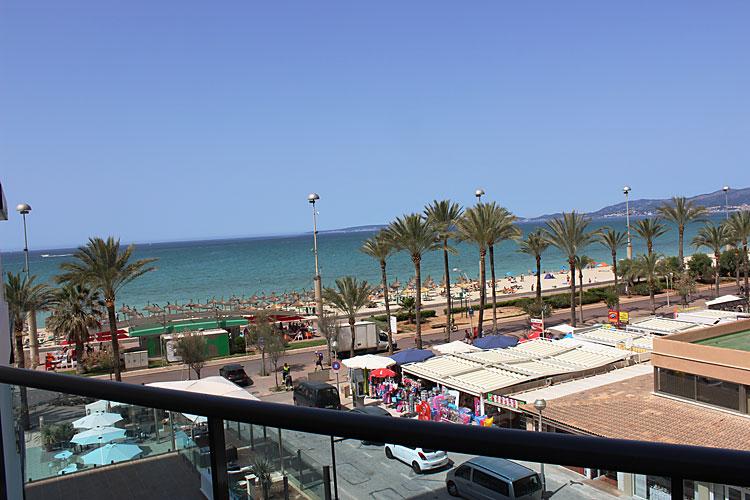 Mallorca Playa De Palma Hotel Meerblick
