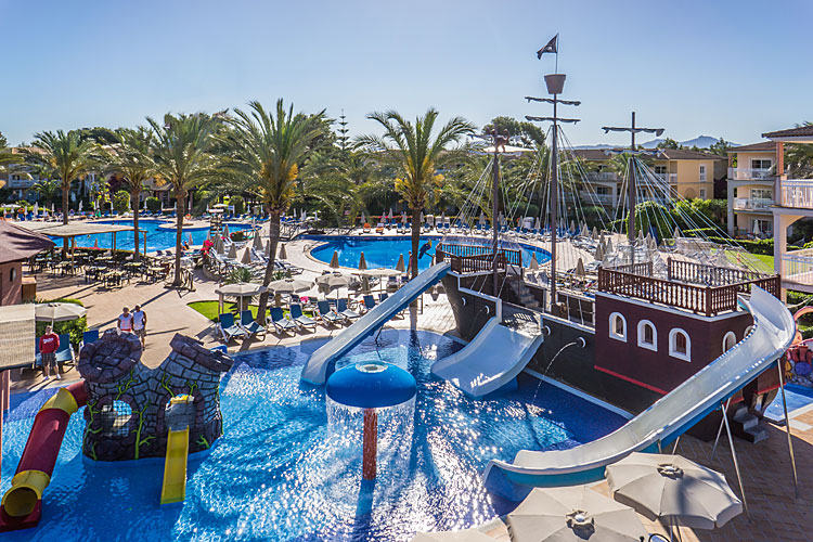Hotel viva ca n picafort club blaues meer reisen for Designhotel am strand