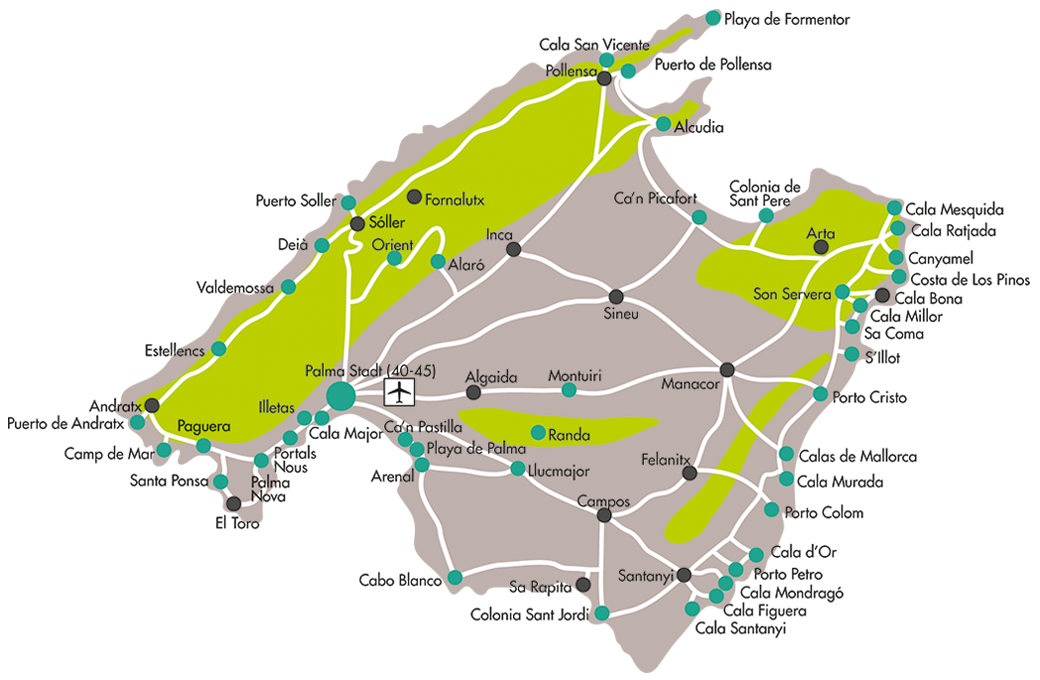 Mallorca Club Blaues Meer Reisen